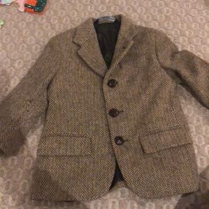 Polo by Ralph Lauren boys herringbone wool blazer